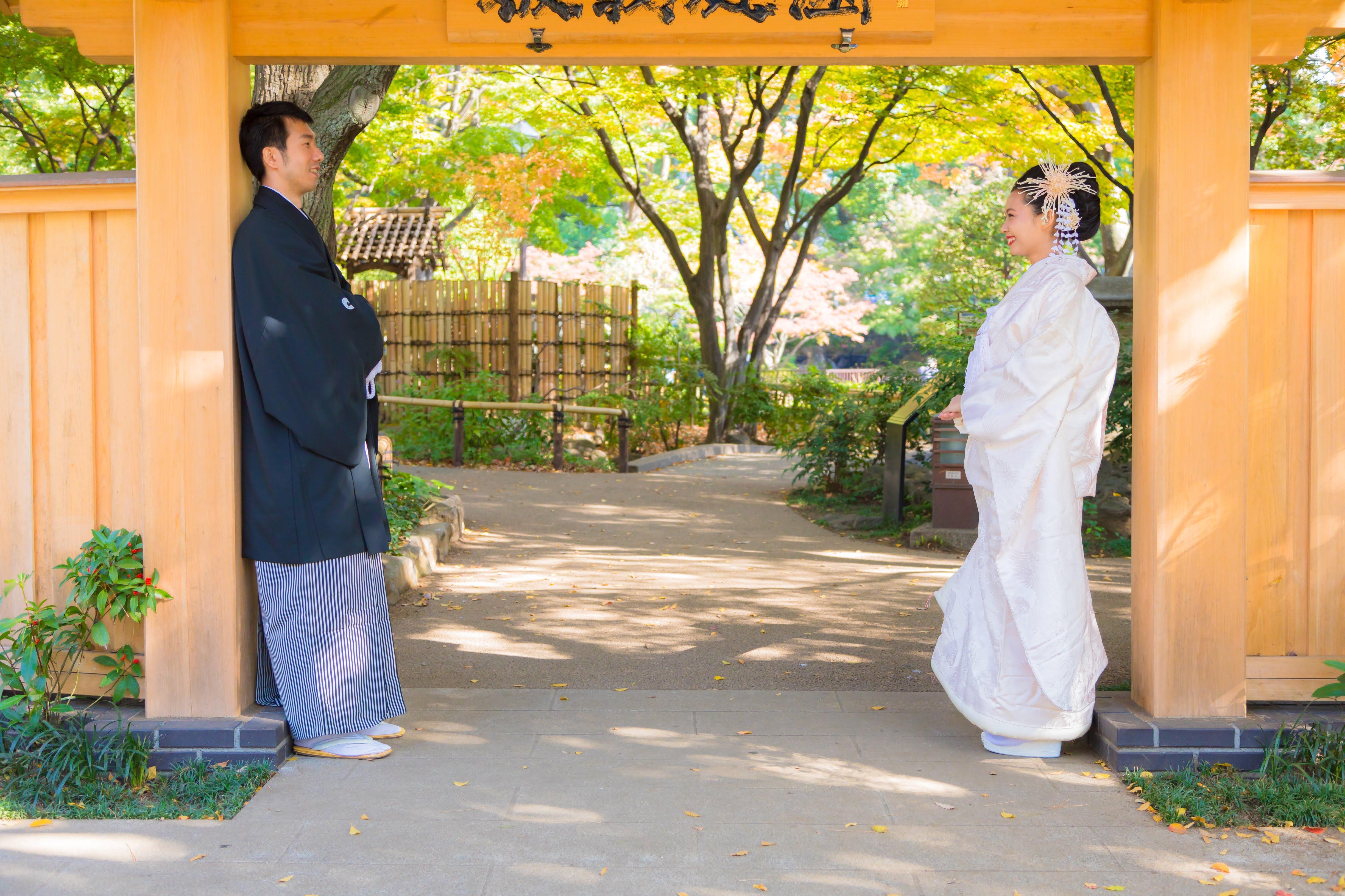 Hình cưới Kimono của mình