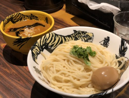 Sợi mì của Tsukemen
