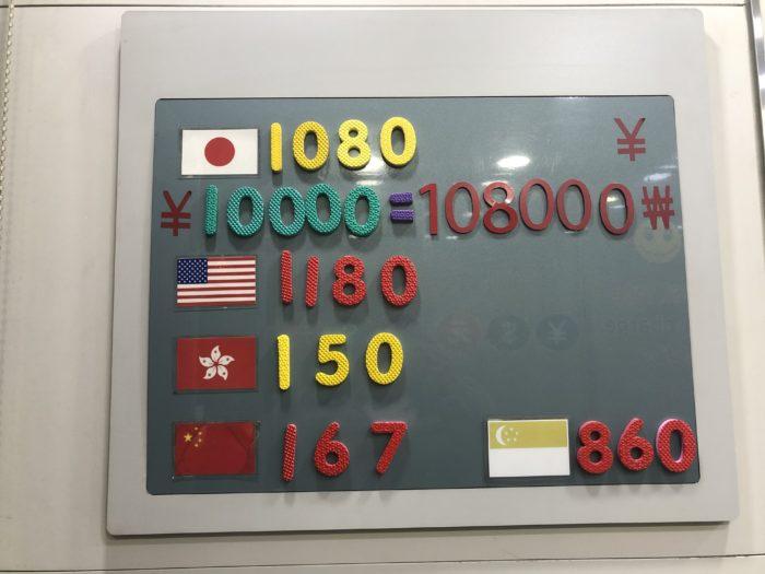 Đổi tiền Hàn