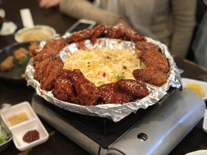Món gà rán sốt cay